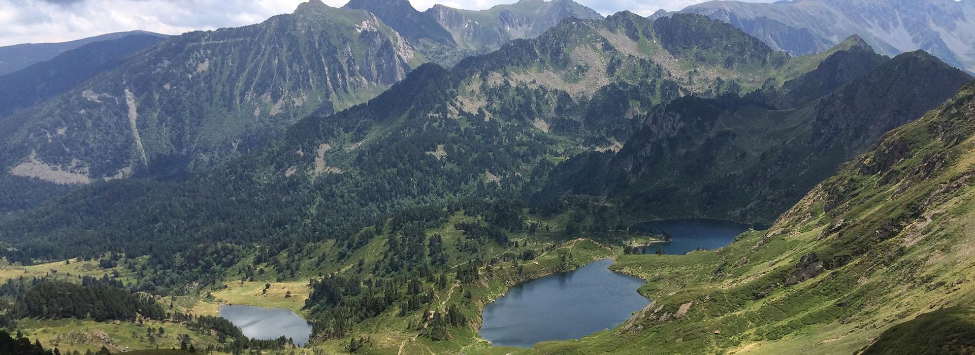 Pic du Tarbesou et les 3 lacs aux alentours de l'hôtel le Chalet
