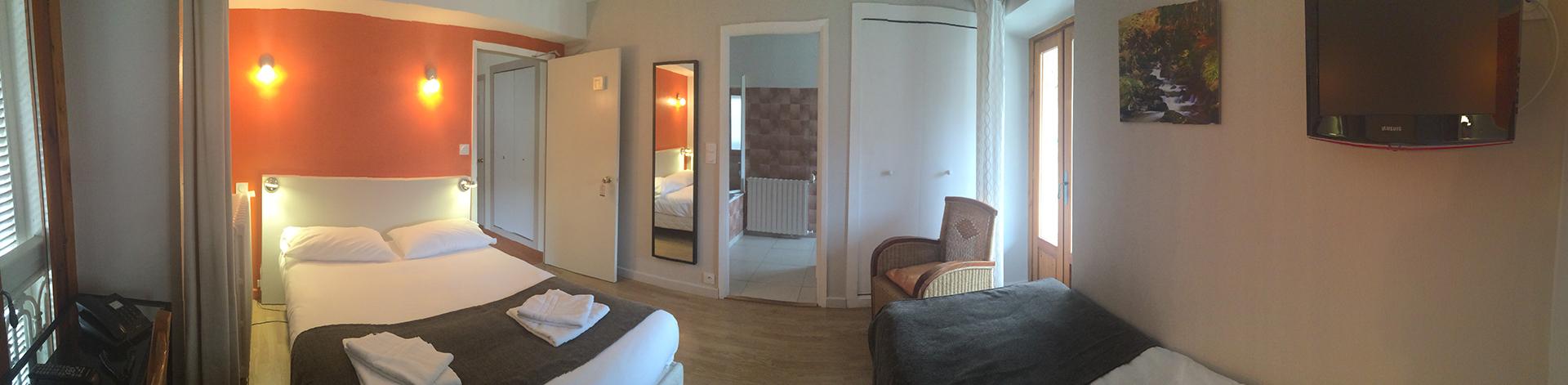 le chalet chambre n 176 7 hotel le chalet ax les thermes