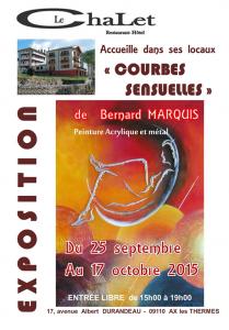 Exposition Peinture Bernard Marquis Le Chalet Ax les Thermes