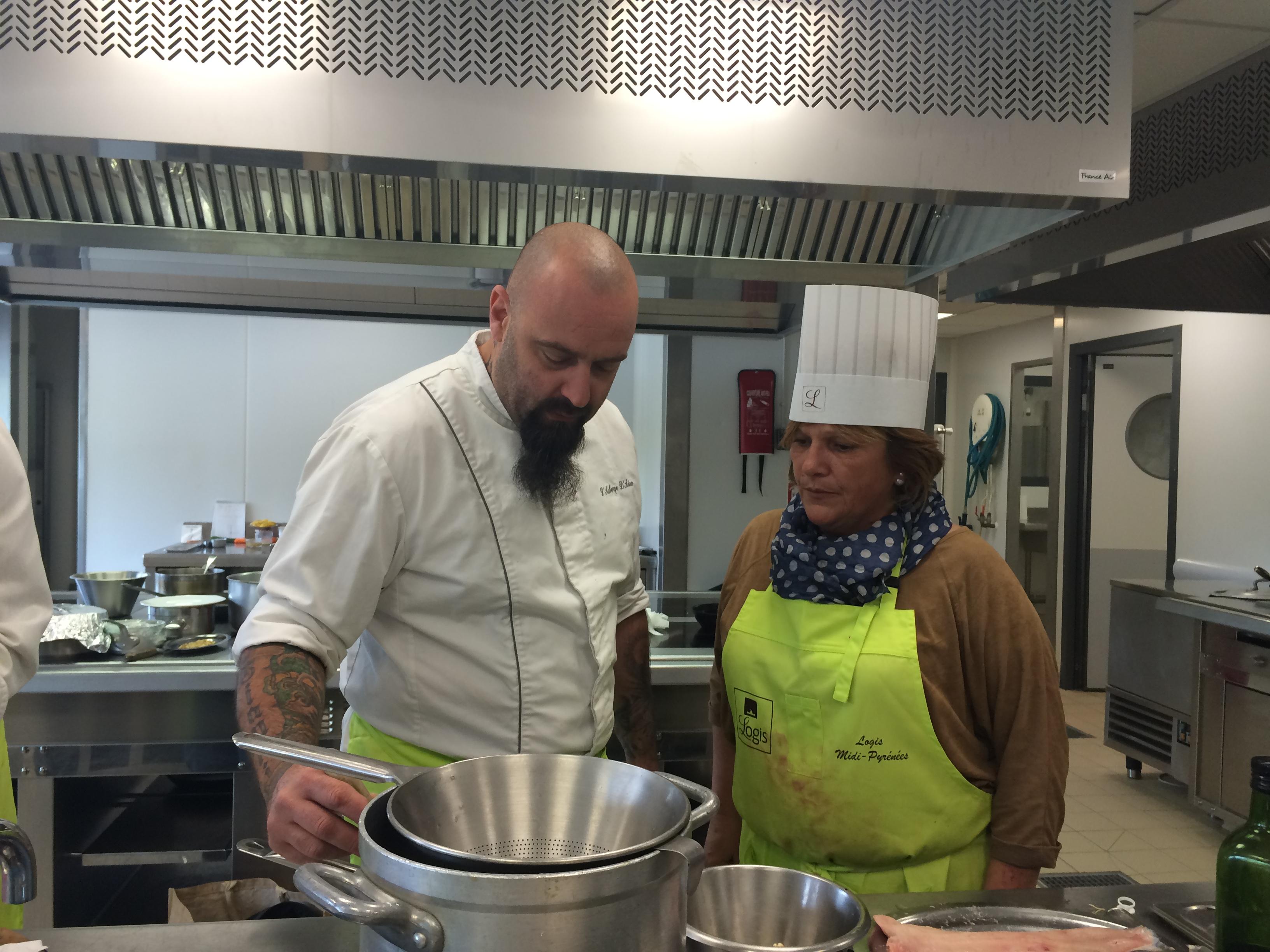 Concours cuisine Logis de France Restaurant Le Chalet Ax les Thermes 2