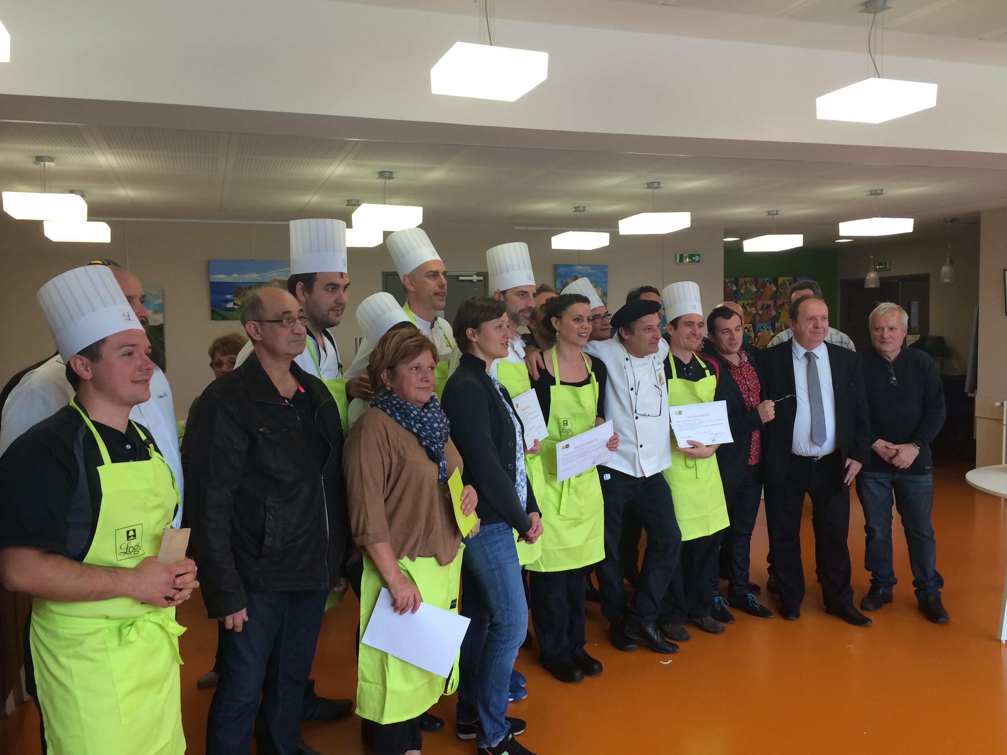 Concours cuisine Logis de France Restaurant Le Chalet Ax les Thermes 3