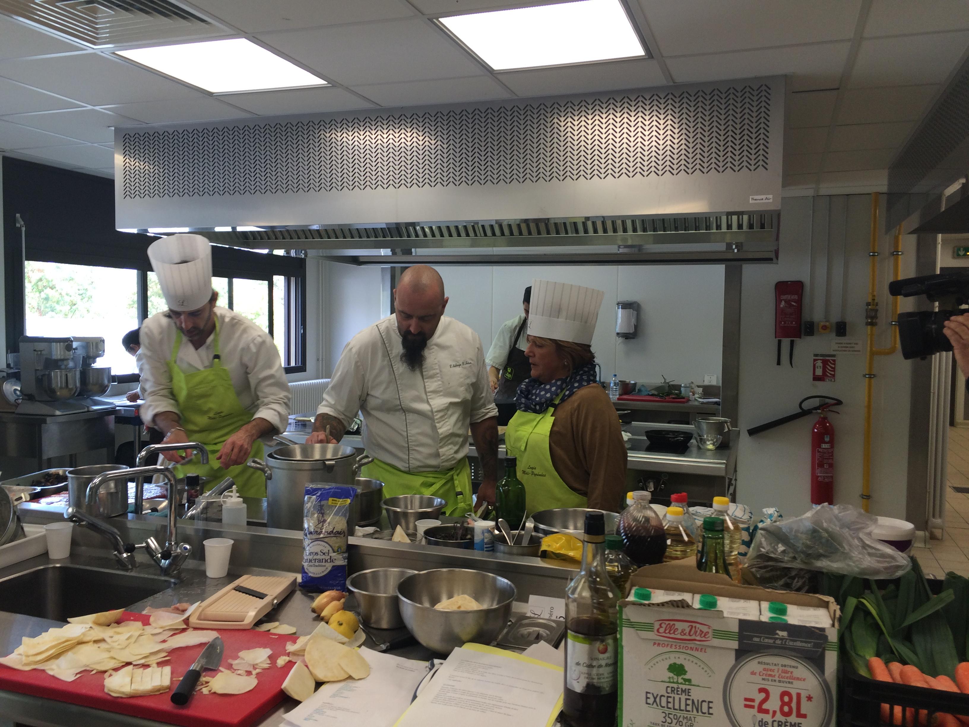 concours cuisine Logis de France Retsaurant Le Chalet Ax les Thermes ariege